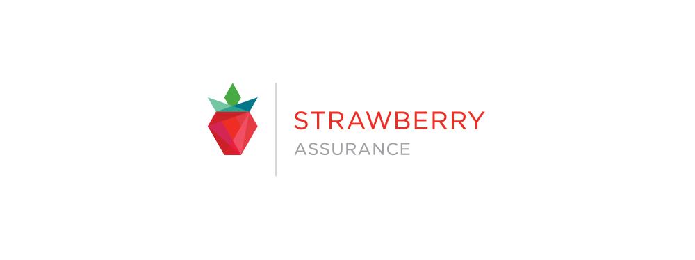 Strawberry Assurance logo (secondary)