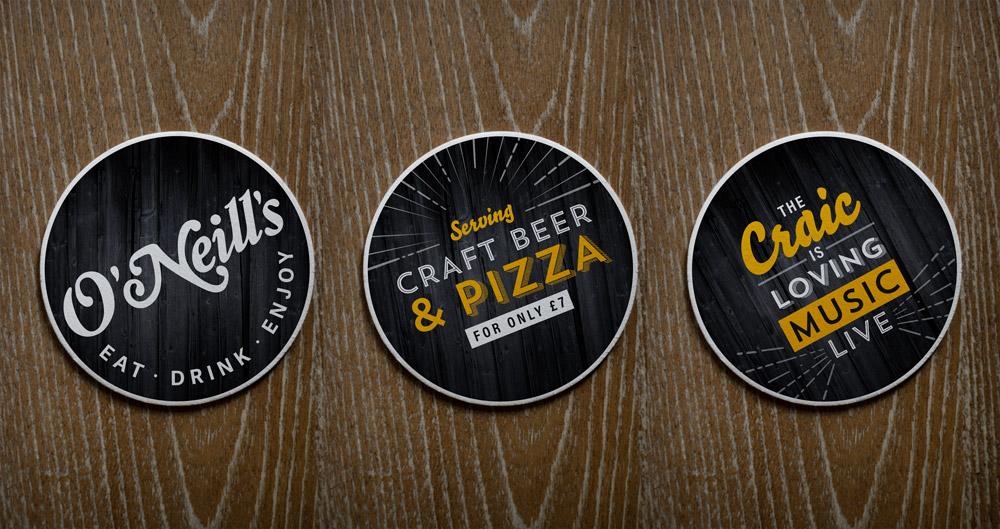 Beer mats design
