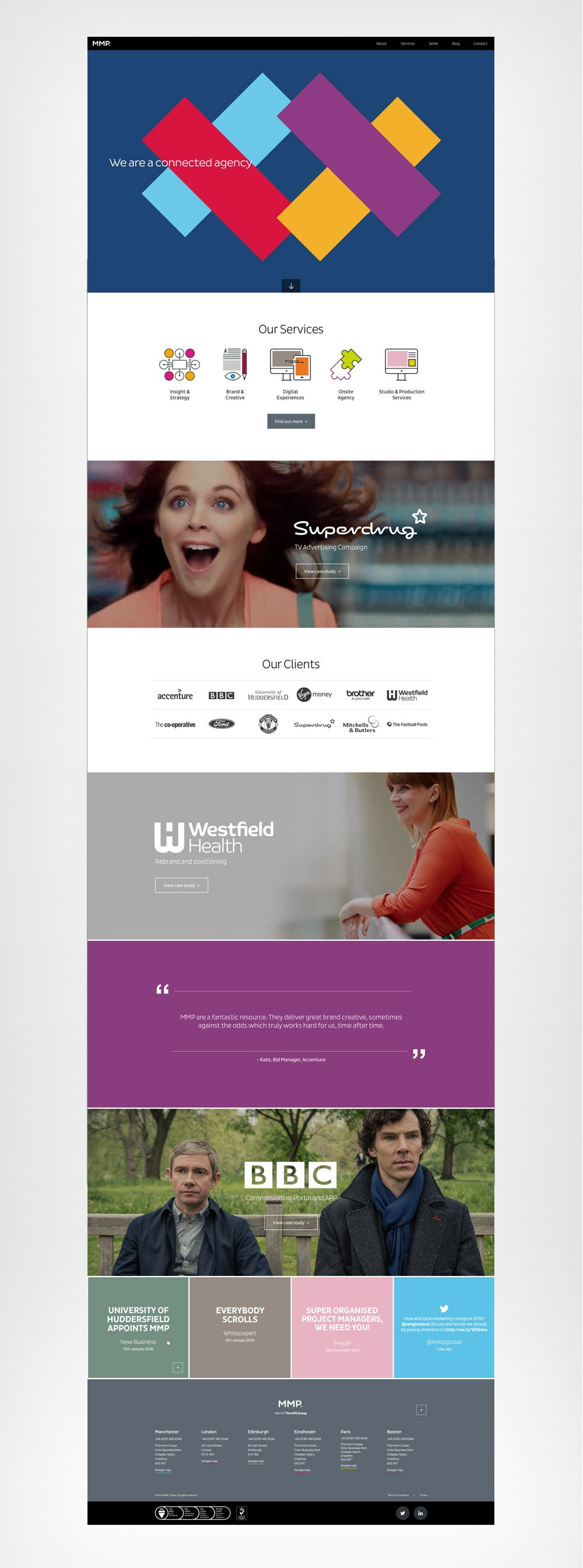 MMP homepage