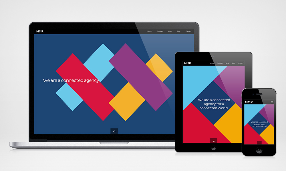 MMP desktop, tablet and mobile design