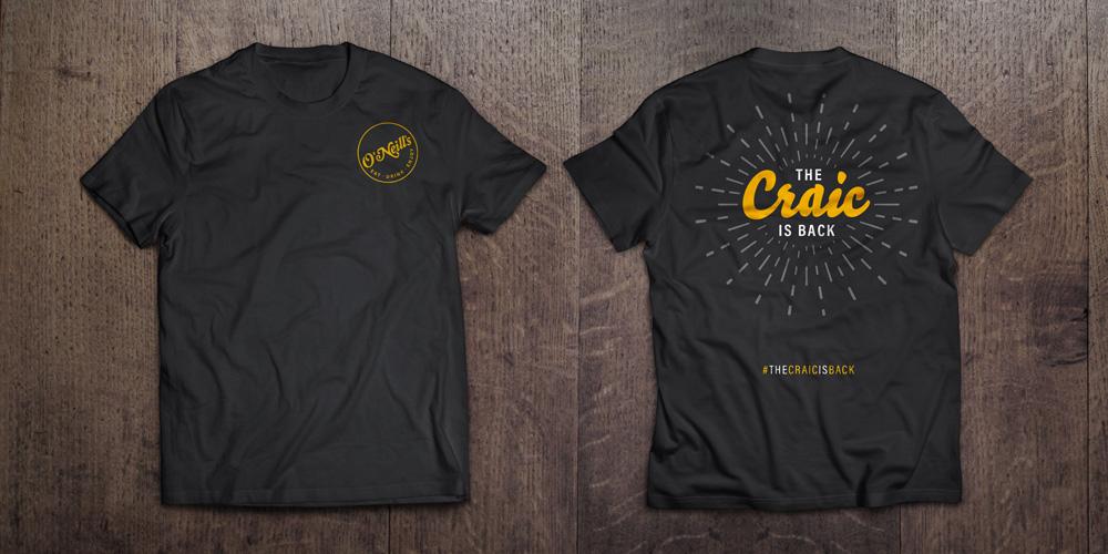 Staff uniform tshirt design